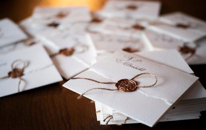 Briefumschläge für Siegelstempel